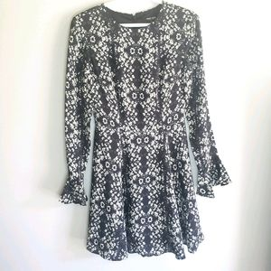 Ever New Julia Fit & Flare Chic Floral Day Dress